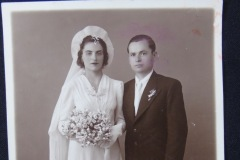 OLD WEDDING PHOTOGRAPH 2 <p>From flea market. </p>