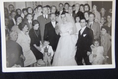 OLD WEDDING PHOTOGRAPH 3<p> From flea market.</p>