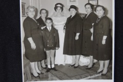 OLD WEDDING PHOTOGRAPH 4<p> From flea market.</p>