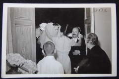 OLD WEDDING PHOTOGRAPH 8<p> From flea market.</p>
