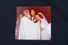 OLD PHOTOGRAPH OF WEDDING CEREMONY 1A<p> From flea market.</p>