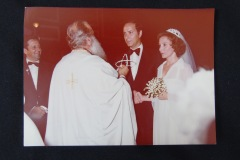 OLD PHOTOGRAPH OF WEDDING CEREMONY 1B<p> From flea market.</p>