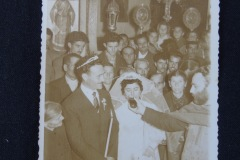 OLD PHOTOGRAPH OF WEDDING CEREMONY 3<p> From flea market.</p>
