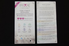 BROCHURES AND FLYERS FROM PENANG  WEDDING VENUES AND BUSINESSES<p> These brochures and flyers give a sense of the variety  of weddings that are celebrated in Penang by people of  different cultures and religions.</p>