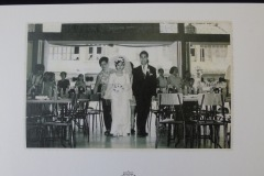 PENANG CHINESE WEDDING PHOTOGRAPH 1<p> This photograph was taken by Goh Kong Chuan as part  of a family record, shown here by kind permission of his nephew, Goh Hun Meng. It shows a wedding reception at Goh Kongsi, Noordin Street, 1972.</p>