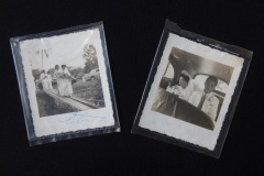 SMALL, INFORMAL, CHINESE WEDDING  PHOTOS, C.1960S <p>These small, informal, Chinese wedding photos were found  in a Penang flea market. They show a bride being collected  from her natal home as part of the wedding rituals</p>
