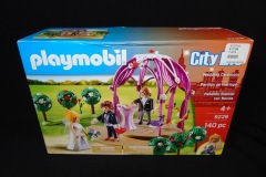 TOY WEDDING CEREMONY AND  WEDDING RECEPTION <p>These toys were bought from a toy shop in Charlottesville.</p>