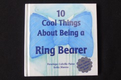 RING BEARER ADVICE BOOK<p> Ring bearers are usually young boys. They might  be the son of the couple or of one of the couple, a  grandson, nephew, or a family friend.</p>