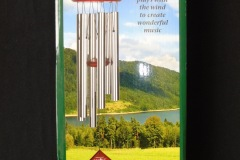 WIND CHIME<p> It is understood that the absence of friends and family  who have died can feel particularly sad at weddings.  Some people fix a wind chime to a tree during an outdoor  ceremony and say that the sound makes a deceased loved  one's presence heard. This was purchased online, on the  advice of a wedding officiant.</p>